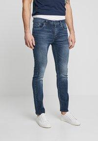Pier One - Jeans Skinny Fit -  dark blue denim - 0
