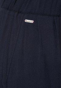 Street One - LOOSE FIT MIT WIDE LEGS - Shorts - blau - 4