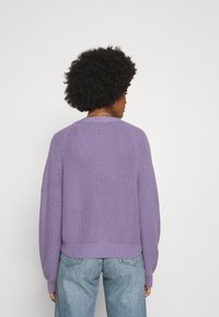 Monki - ZETA CARDIGAN - Kardigan - lilac purple medium - 2