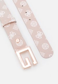 Guess - BRIGHTSIDE ADJUST PANT BELT - Belt - blush - 1