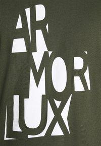 Armor lux - SÉRIGRAPHIÉ HÉRITAGE - Triko spotiskem - epicea - 6