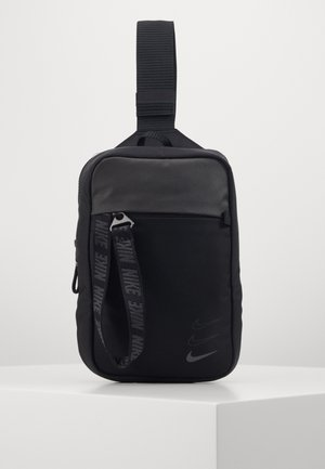 ESSENTIALS UNISEX - Across body bag - black/dark smoke grey