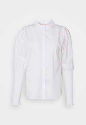 TRINNY - Button-down blouse - snow white/off white
