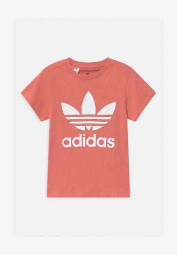 TREFOIL - Print T-shirt - hazy rose/white