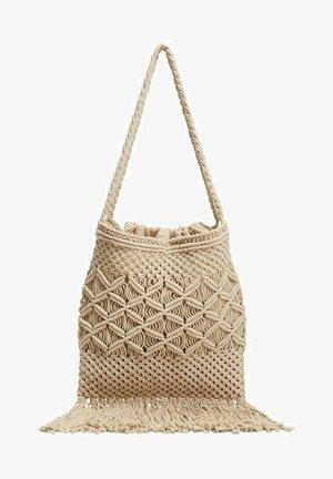 Handbag - ecru