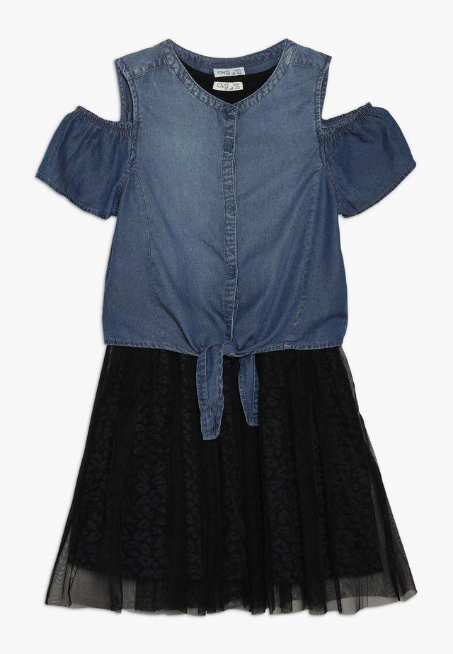 DRESS - Day dress - meteorite