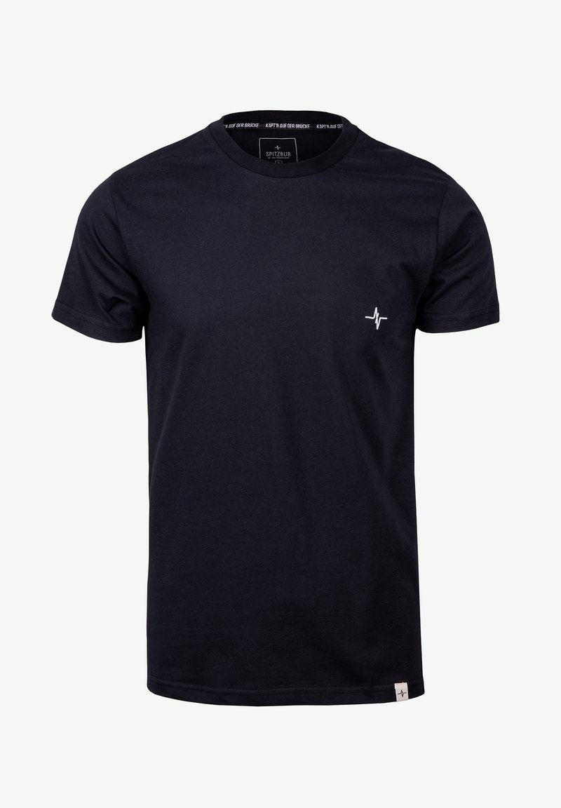 Spitzbub - HEARTBEAT - Basic T-shirt - schwarz