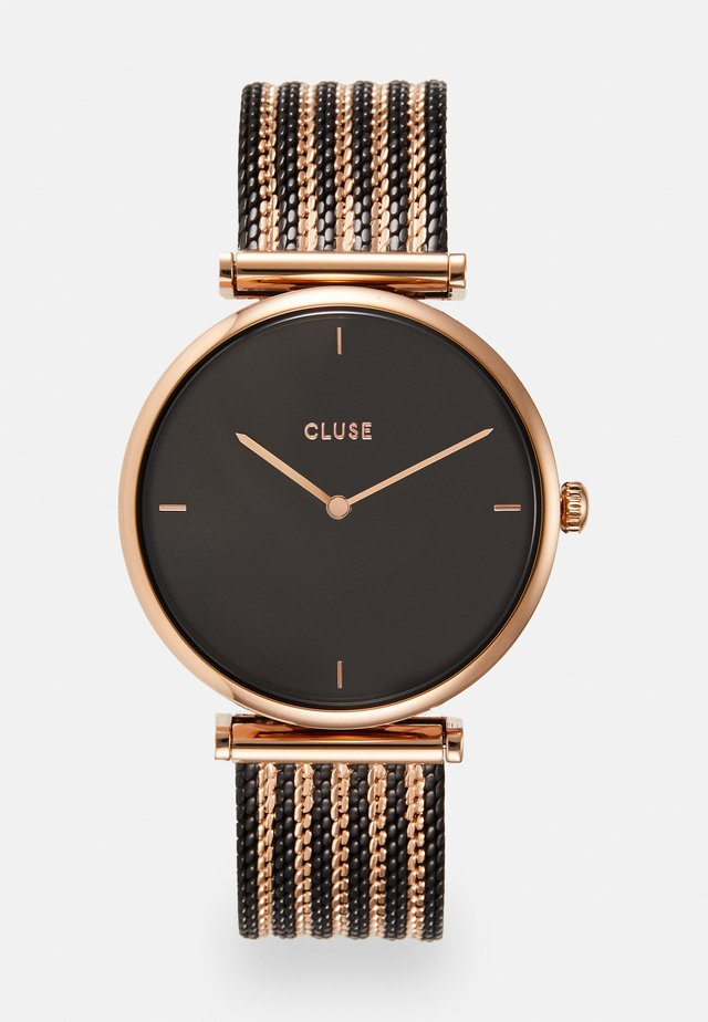 TRIOMPHE - Horloge - rose gold-coloured/black