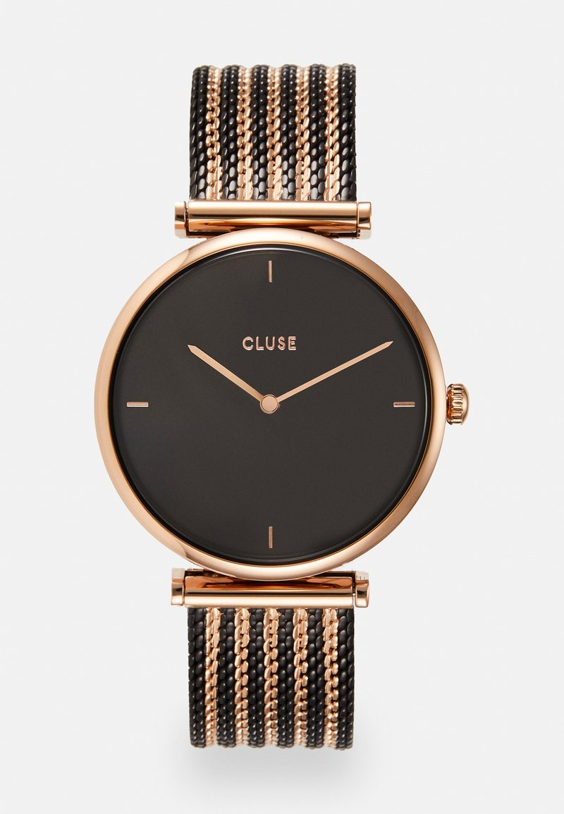 Cluse - TRIOMPHE - Hodinky - rose gold-coloured/black