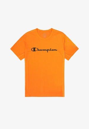 CREWNECK - Print T-shirt - orange fluo