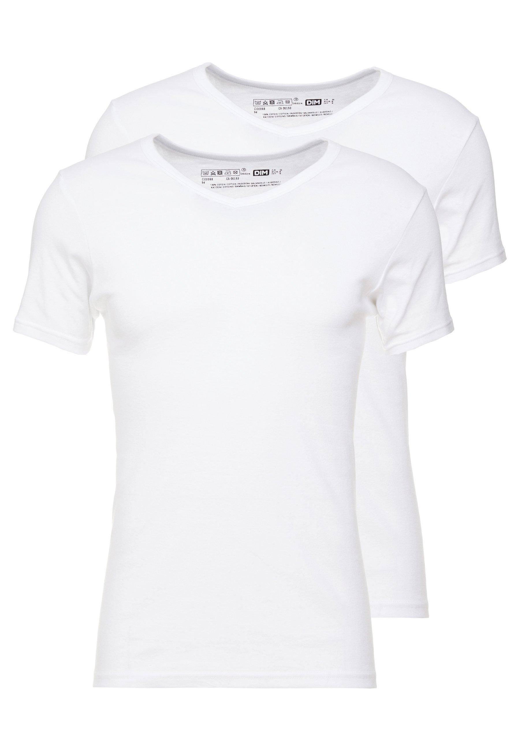 Men ECODIM  V NECK 2 PACK - Undershirt