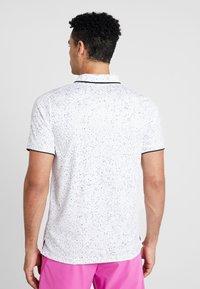 Nike Performance - Sports shirt - white/black - 2