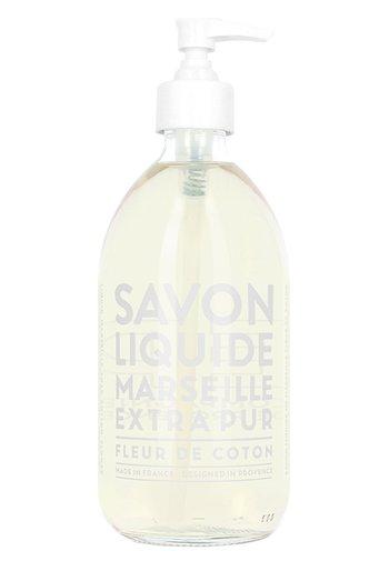 LIQUID MARSEILLE SOAP - Sapone liquido - cotton flower