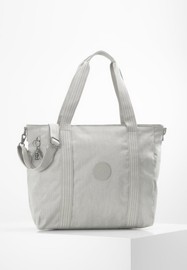 ASSENI - Shopping bag - grey beige