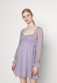 Hollister Co. - SHORT DRESS - Kjole - lavender - 0