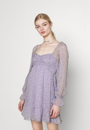 SHORT DRESS - Day dress - lavender