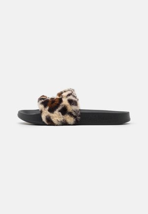 LEADCAT LEO - Sandaler - black/gold