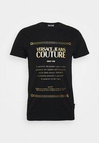 MOUSE - Print T-shirt - black
