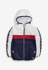 Next - Waterproof jacket - White, Red, Blue - 1