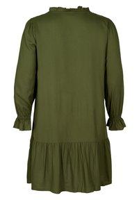 Zizzi - Day dress - army - 3
