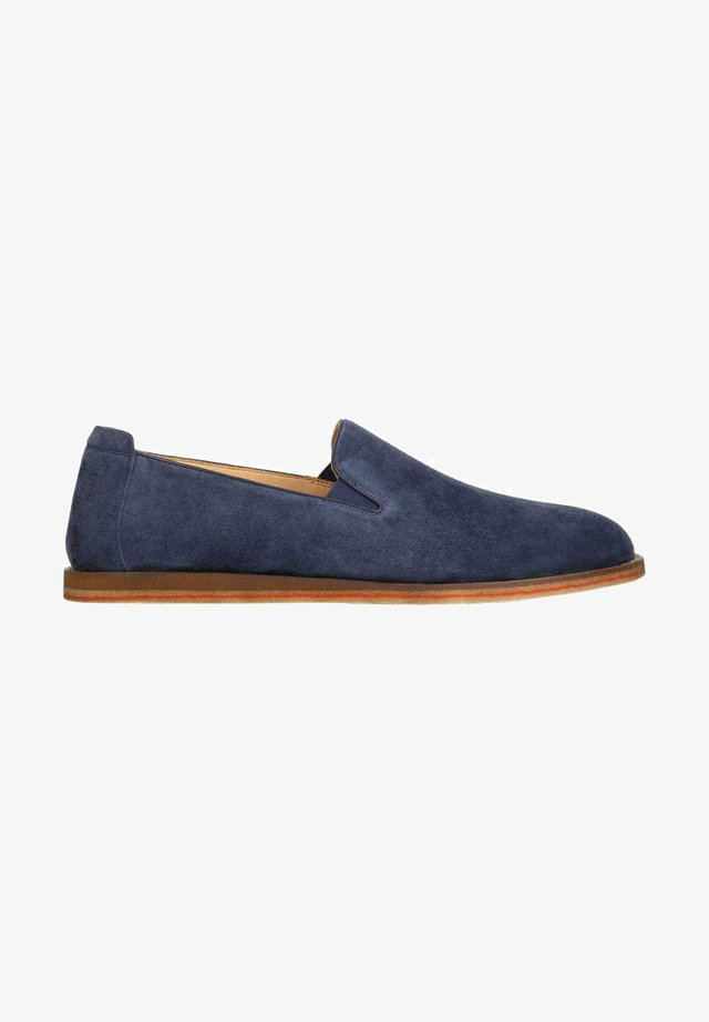 DAMIR - Loaferit/pistokkaat - Navy blue