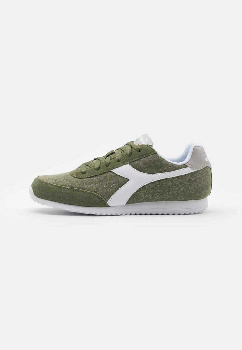 Diadora - JOG LIGHT - Trainers - green/gray violet