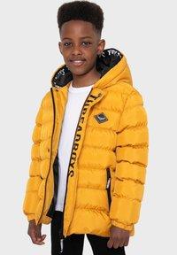 Threadboys - Winter jacket - mustard - 0