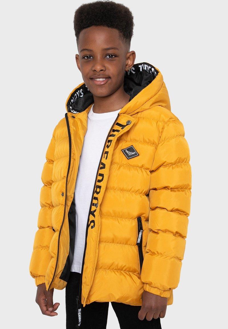 Threadboys - Winter jacket - mustard