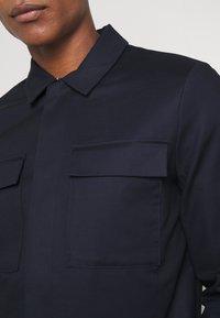 Topman - SMART SHACKET  - Summer jacket - navy - 5