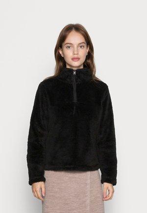ONLJINA HALF ZIP - Fleece jumper - black