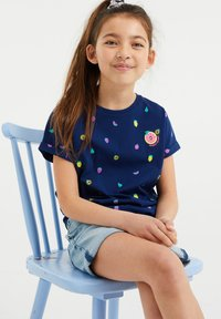WE Fashion - T-shirts print - dark blue - 2