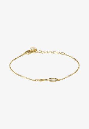 INFINITY BRACELET - Armbånd - pale gold-coloured