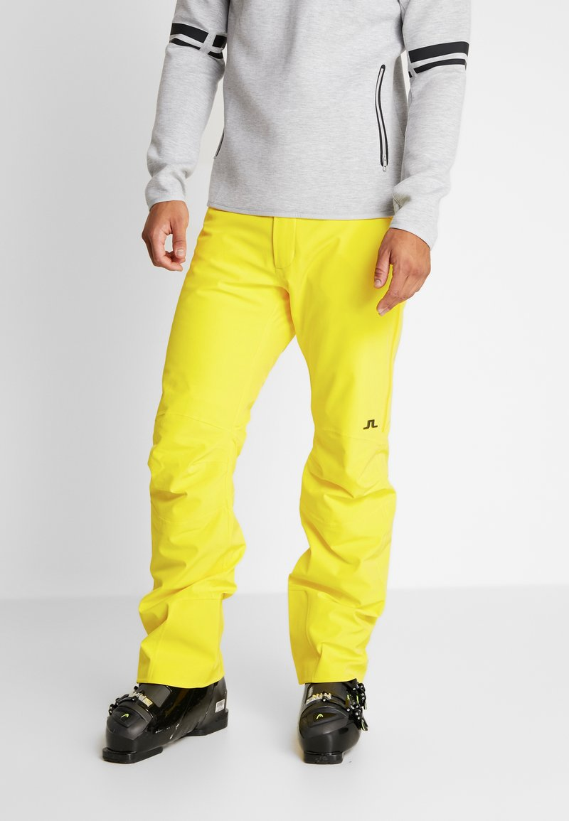 J.LINDEBERG - MOFFIT DERMIZAX - Talvihousut - banging yellow