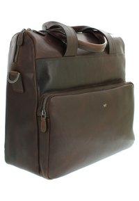 Braun Büffel - Briefcase - dark brown - 2
