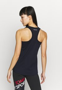 Tommy Sport - PERFORMANCE TANK TOP - Sports shirt - blue - 2
