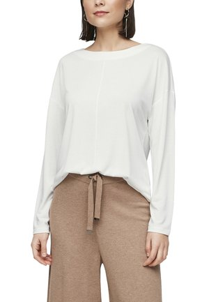 DROPPED SHOULDER - Long sleeved top - offwhite