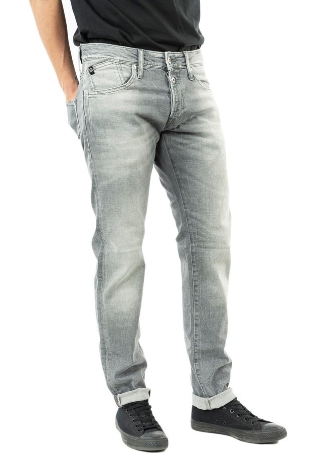 Slim fit jeans - gris