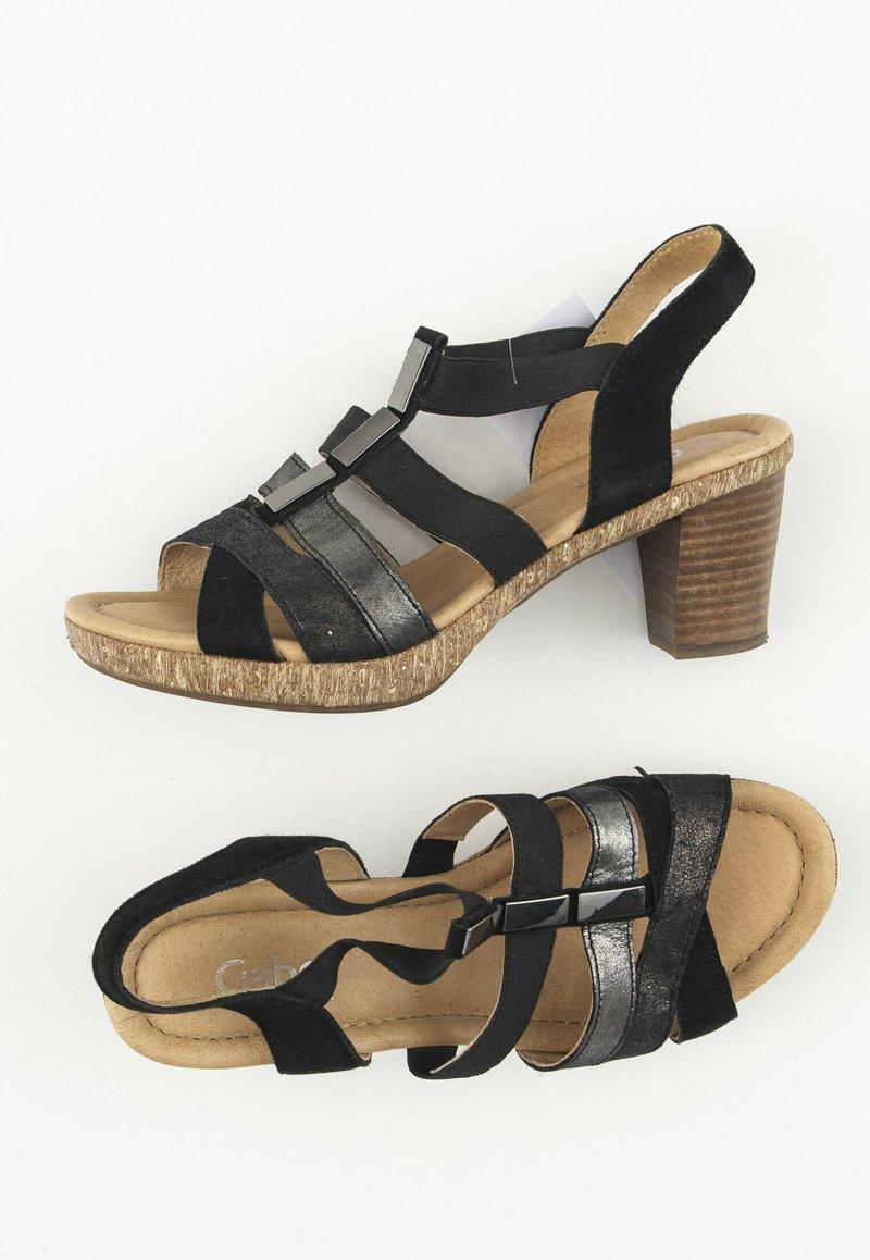 Gabor Comfort - Sandalen - black