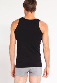 BOSS - SLIM FIT - Undershirt - black - 1