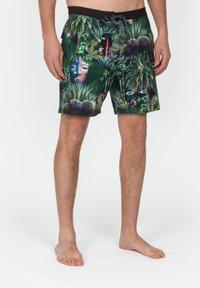 Roark - CHILLER JARDIN OASISS - Swimming shorts - black - 0