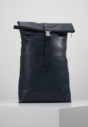 UNISEX LEATHER - Ryggsäck - dark blue