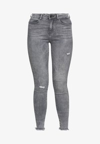 Noisy May Tall - NMLUCY - Jeans Skinny Fit - light grey denim - 4