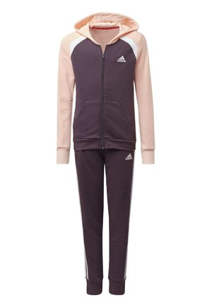 HOODED COTTON TRACKSUIT - Tracksuit - purple