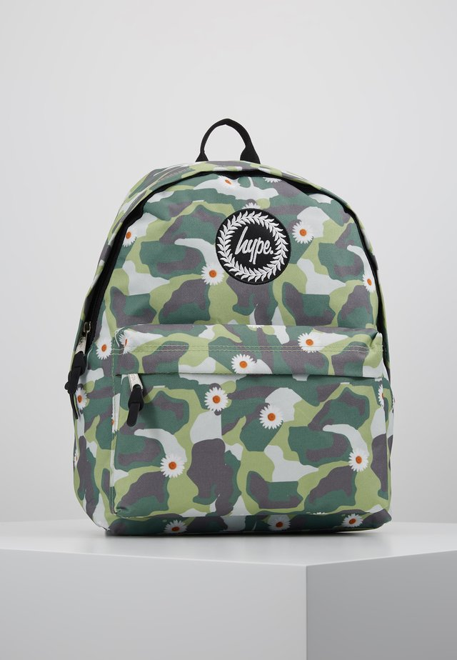 BACKPACK DAISY CAMO - Ryggsekk - green