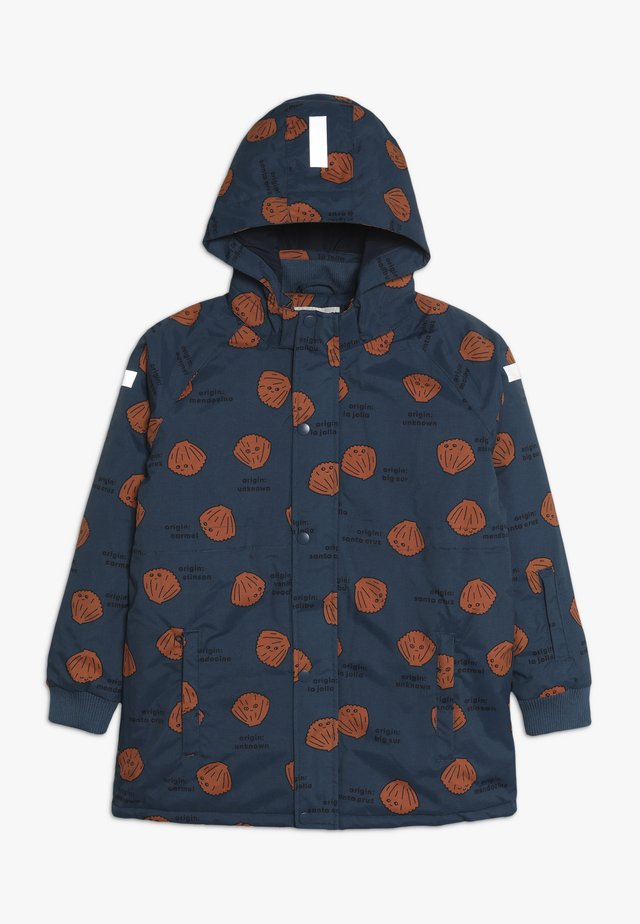 SHELLS SNOW JACKET - Talvitakki - light navy/brown