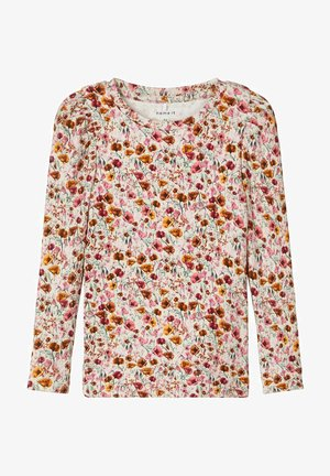 Long sleeved top - withered rose