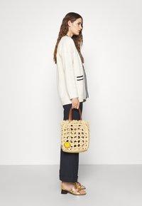 sandro - TOTE - Handbag - ecru - 0