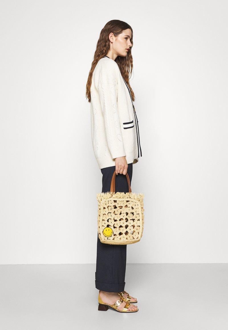 sandro - TOTE - Handbag - ecru