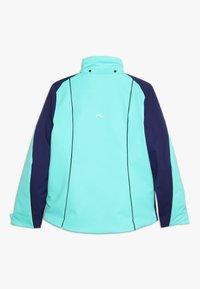 Kjus - GIRLS FORMULA JACKET - Ski jacket - myst sea/into blue - 2