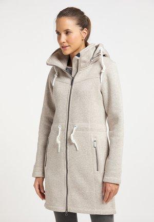 Krátký kabát - elfenbein melange